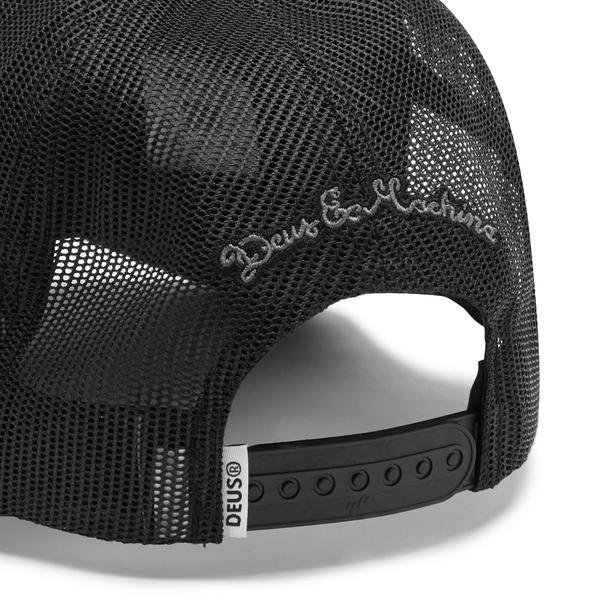 Pill Trucker Hat - Black