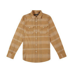 Smart Shirt - Biscuit Plaid