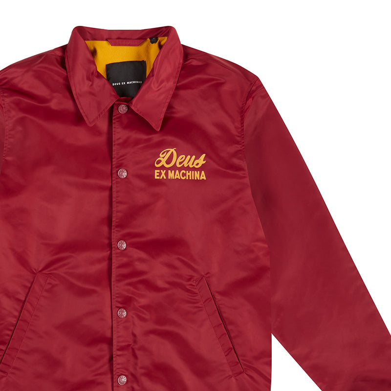 Sunny Impermanence Coach Jacket - Rumba Red