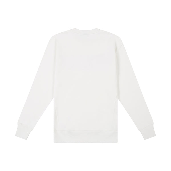 Greaser Crew Sweater - Vintage White