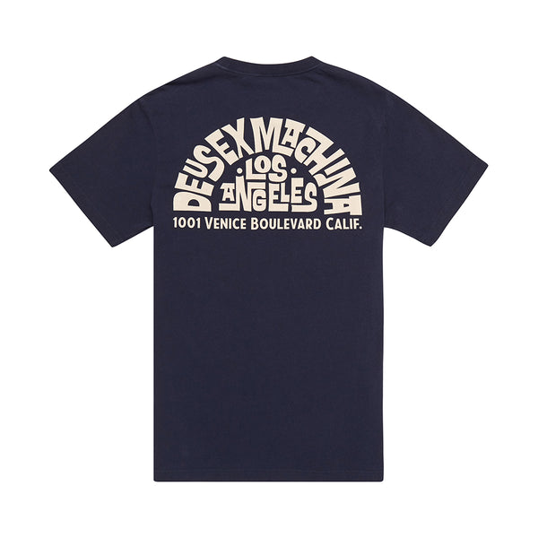 Canggu Address Tee - Denim Blue