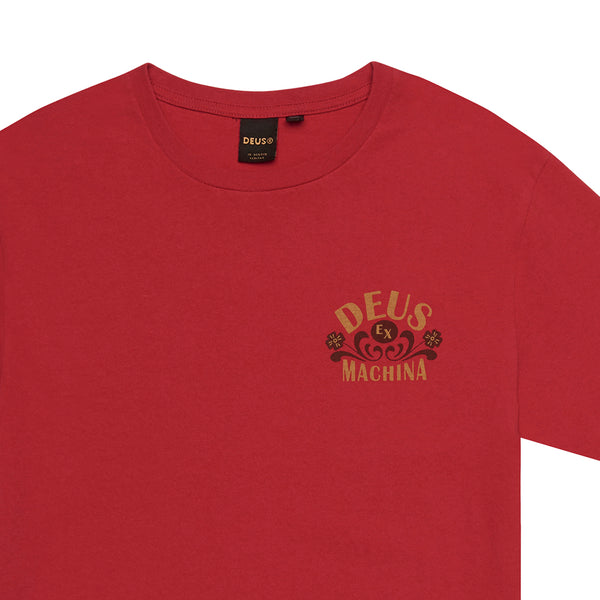 Apache Tee - Chilli Red