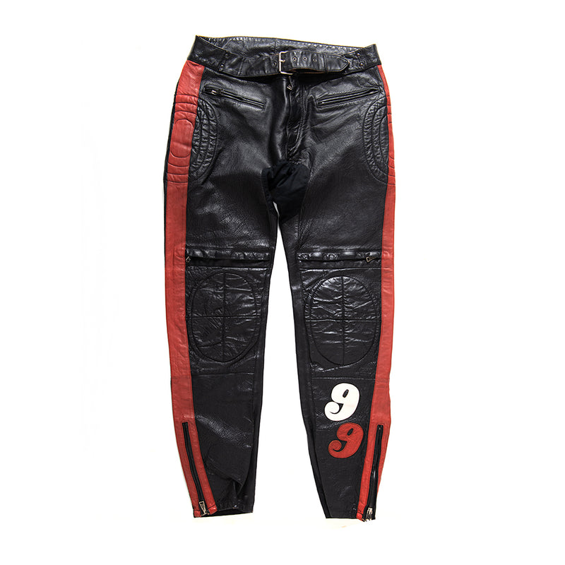 The Fleet Pant - Black-Red