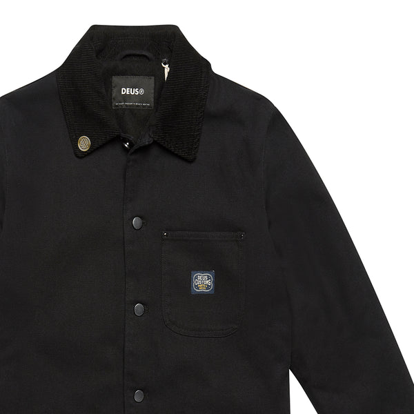 Hank Chore Shirt - Black