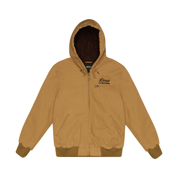 Franklin Hooded Jacket - Driftwood Tan
