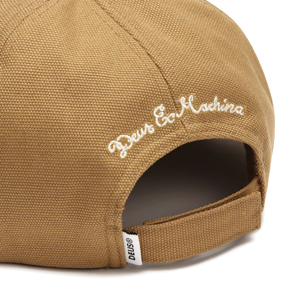 Manx Canvas Cap - Driftwood Tan