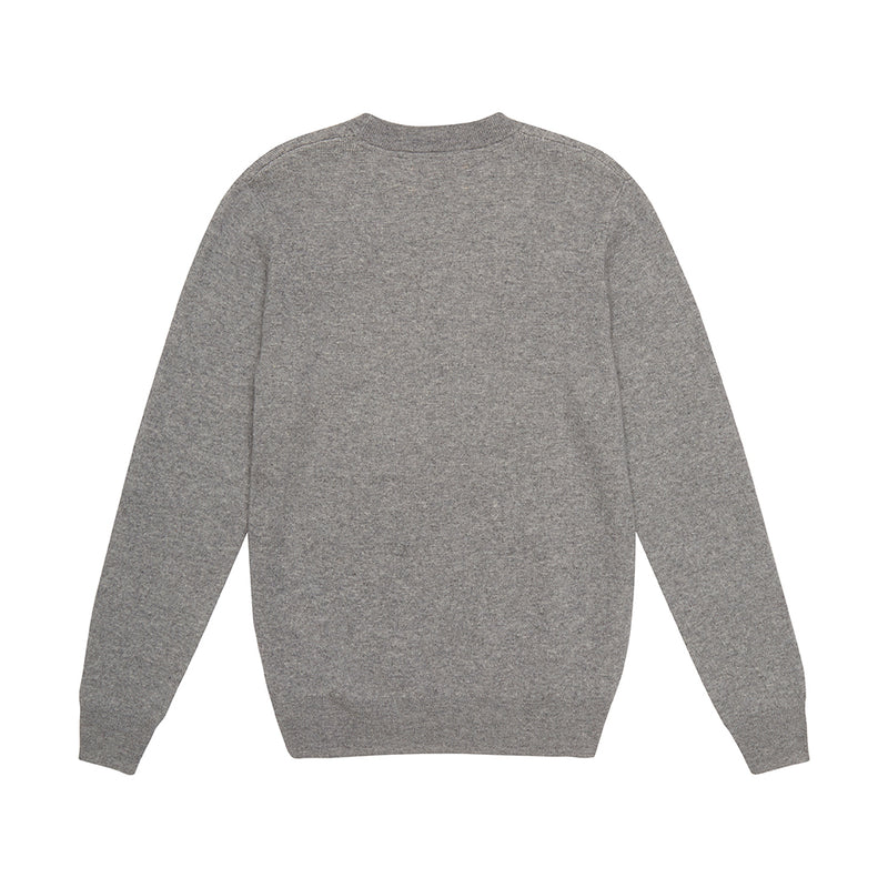 Flightless Crew Knit - Grey Marle
