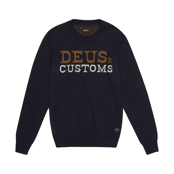 Flightless Crew Knit - Navy