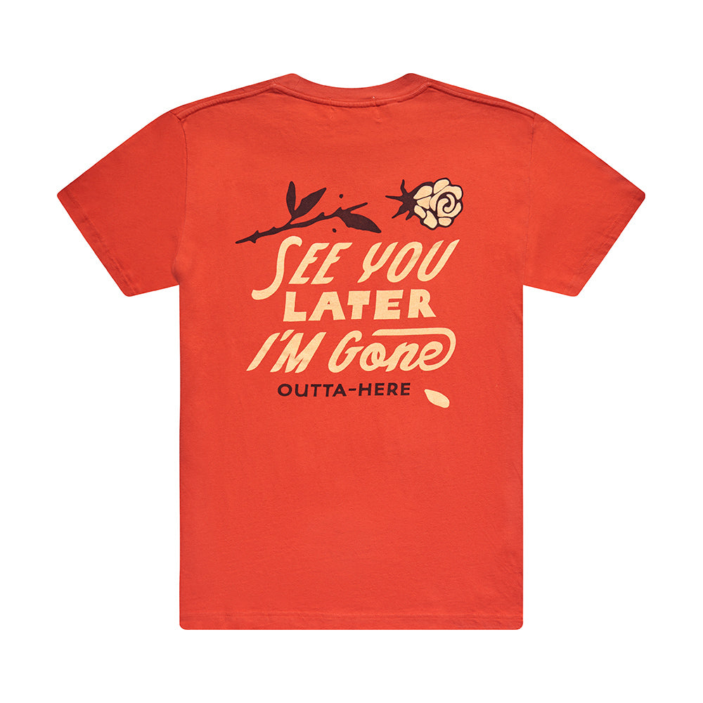 See You Tee - Red Molten