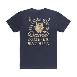 Dancing Devil Tee - Navy