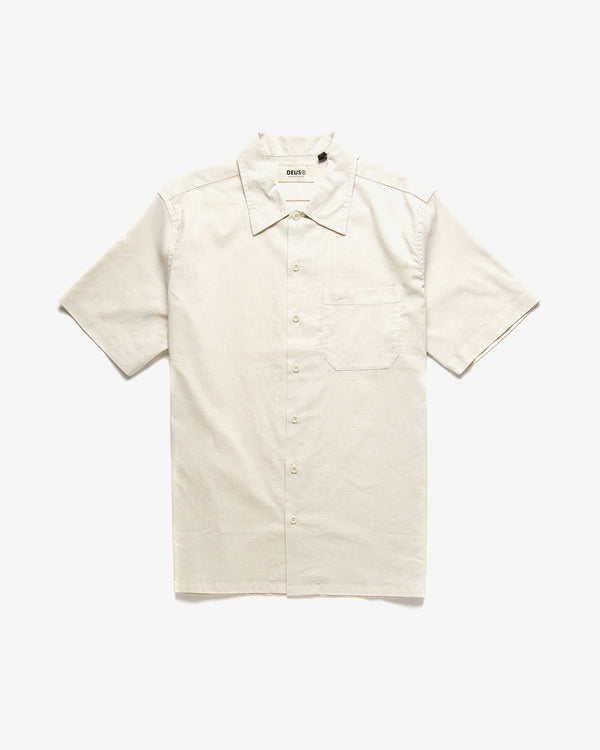 Oscar Hemp Shirt - Dirty White