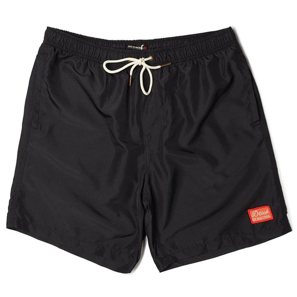 Plains 16 Inch Boardshort - Black