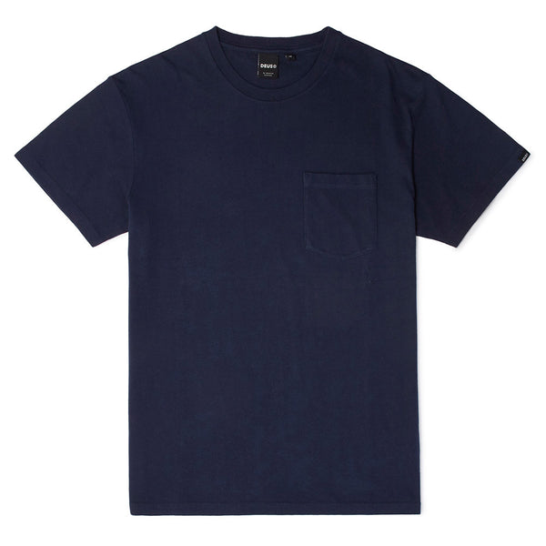 Deus 2 Pack Tees - Navy