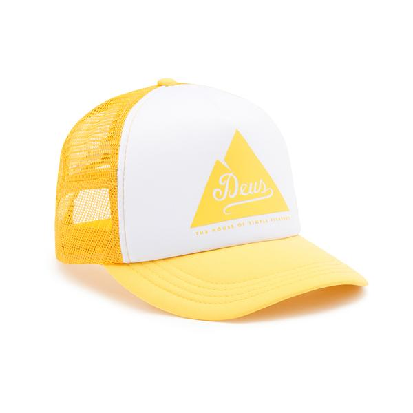 Peak Trucker Hat - Lemon
