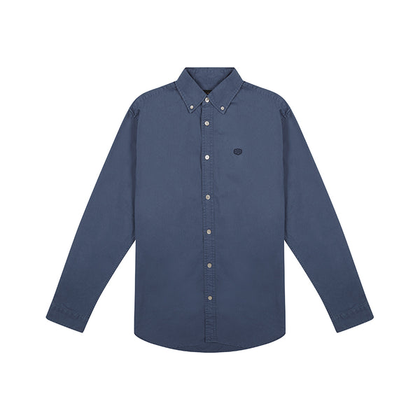 Terry Shield Shirt - Dark Blue