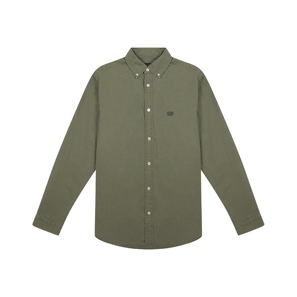 Terry Shield Shirt - Deep Lichen