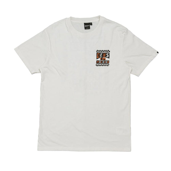 Crossed Up Tee - Dirty White