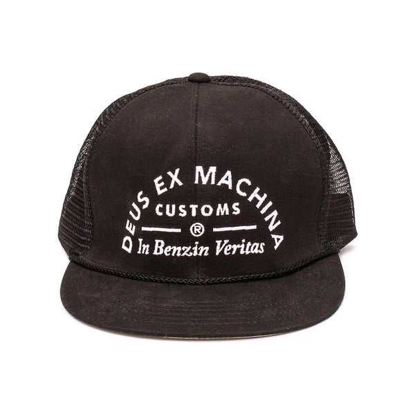 Deusiah Trucker Hat - Black
