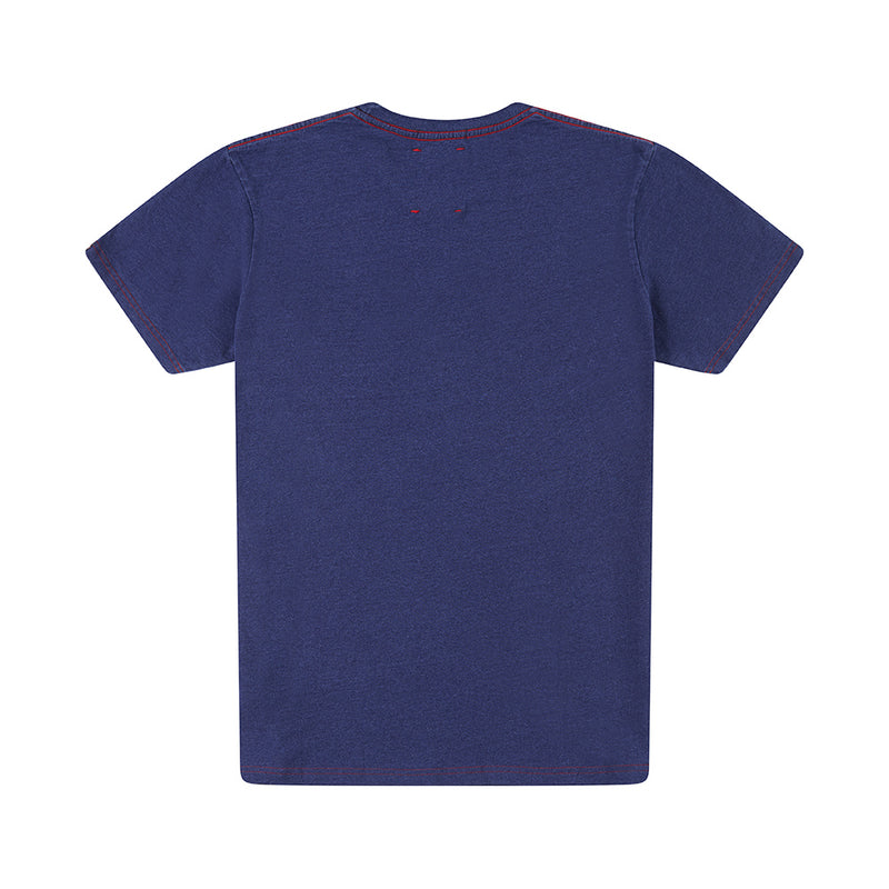 All Caps Indigo Tee - Dark Indigo
