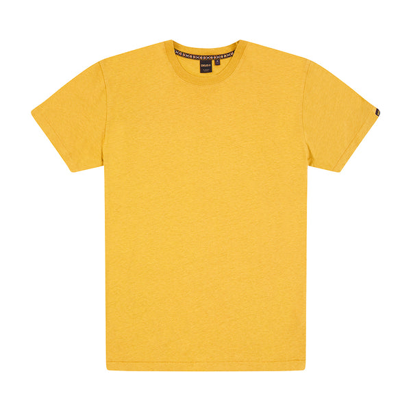 Dogon Plain Tee - Mineral Yellow
