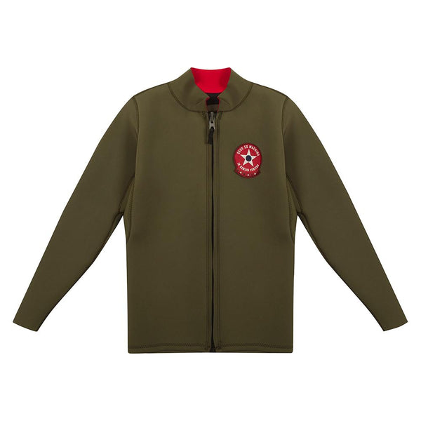 Hover Long Sleeve Wetsuit - Olive