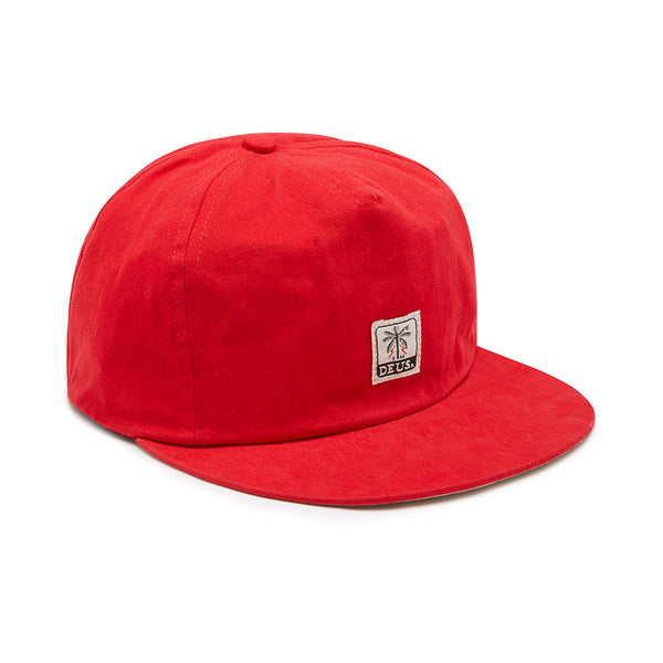 Gimenez 5 Panel Cap - Chili Pepper