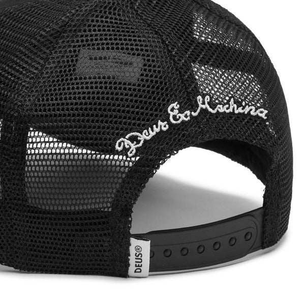 Woven Shield Trucker - Black