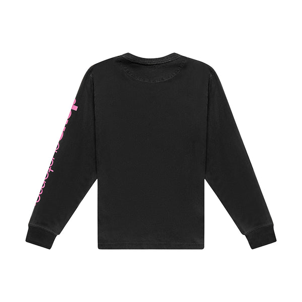Buddy Long Sleeve Tee - Black