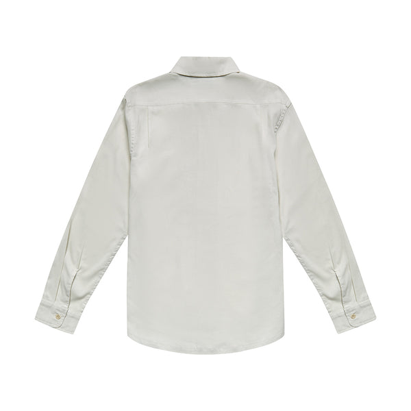 Manila Long Sleeve Shirt - Dirty White