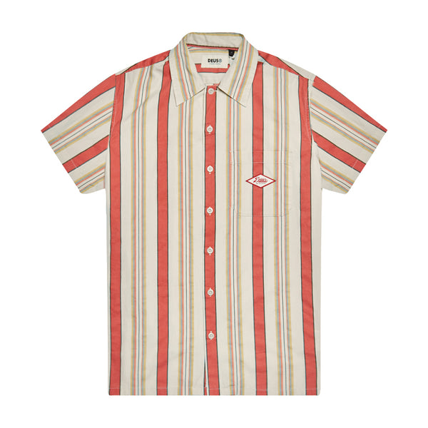 Oscar Stripe Shirt - Sunset Stripe