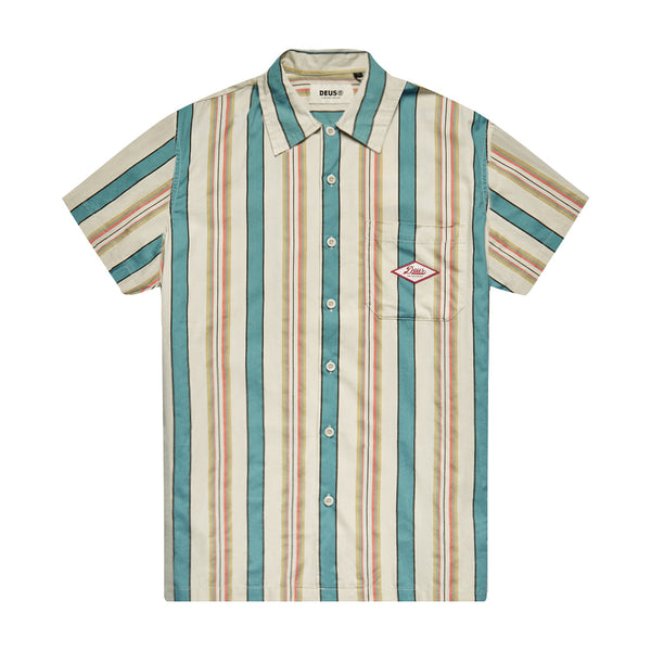 Oscar Stripe Shirt - Tropical Stripe