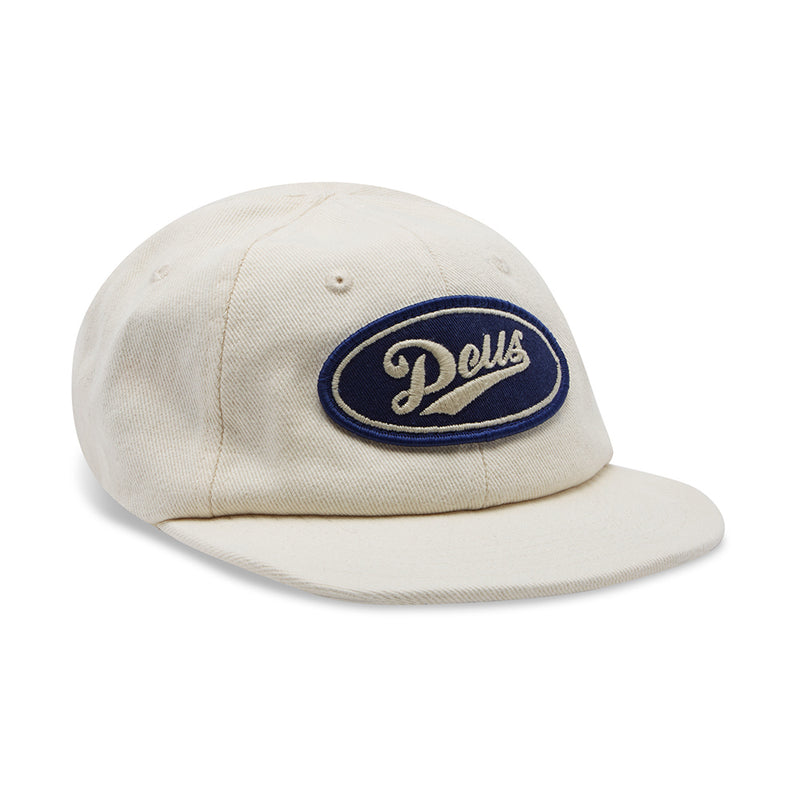 Denim Shop Cap - Bleach White
