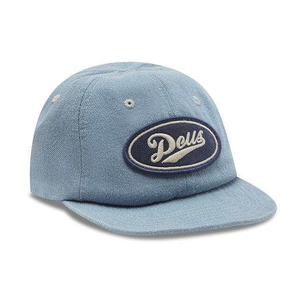 Denim Shop Cap - Mid Blue