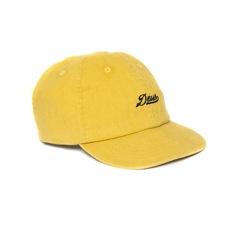 Wes Hemp Cap - Washed Gold
