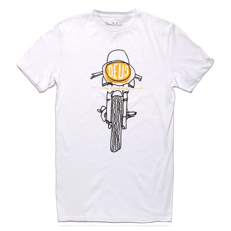 Frontal Matchless Tee - White