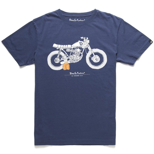 The Shank Tee - Navy