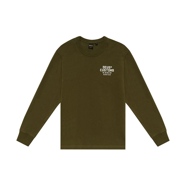 Bronson Long Sleeve Tee - Forest Green