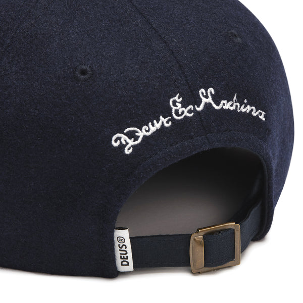 Moleskin Dad Cap - Navy