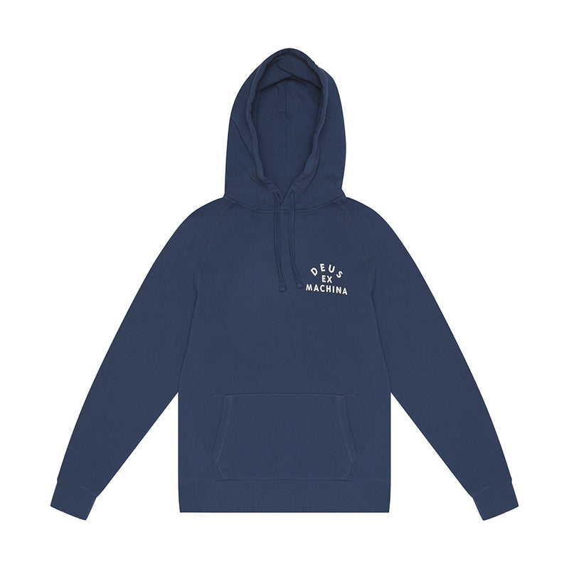 Camperdown Address Hoodie - Mid Blue