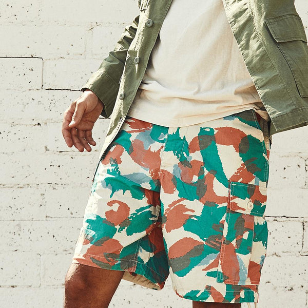 Doc Jungle Short - Multi Camo