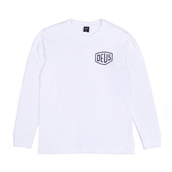 Biarritz Long Sleeve Tee - White