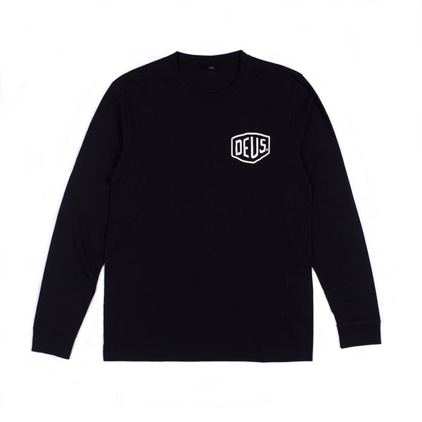 Biarritz Long Sleeve Tee - Black