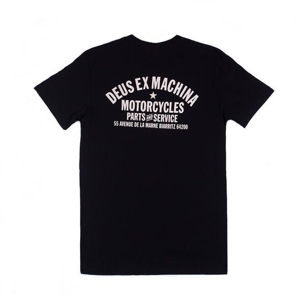 Biarritz Address Tee - Black