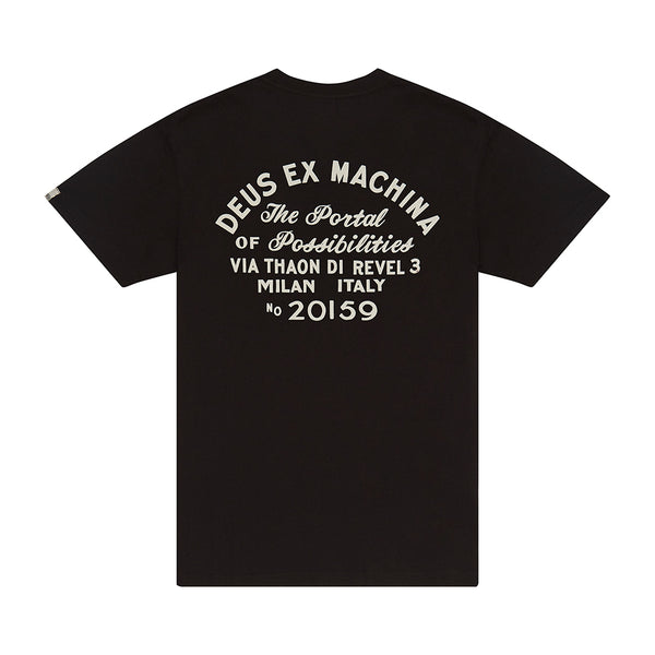 Milano Address Tee - Black