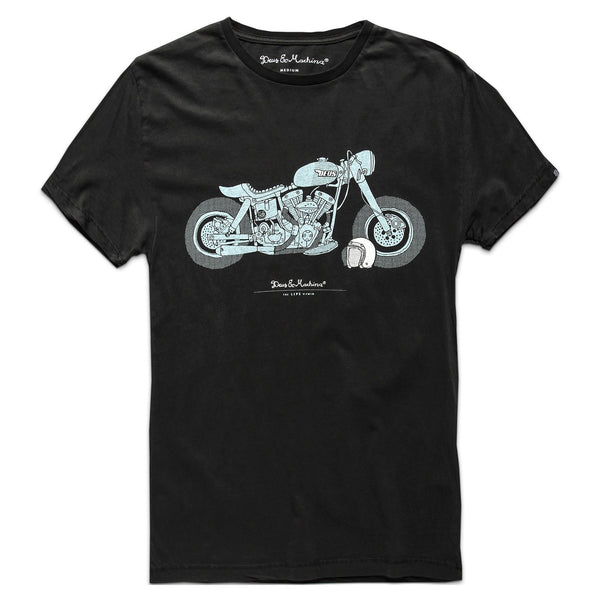 The Lips Tee - Black