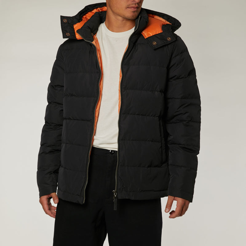 Down Puffa Jacket - Black