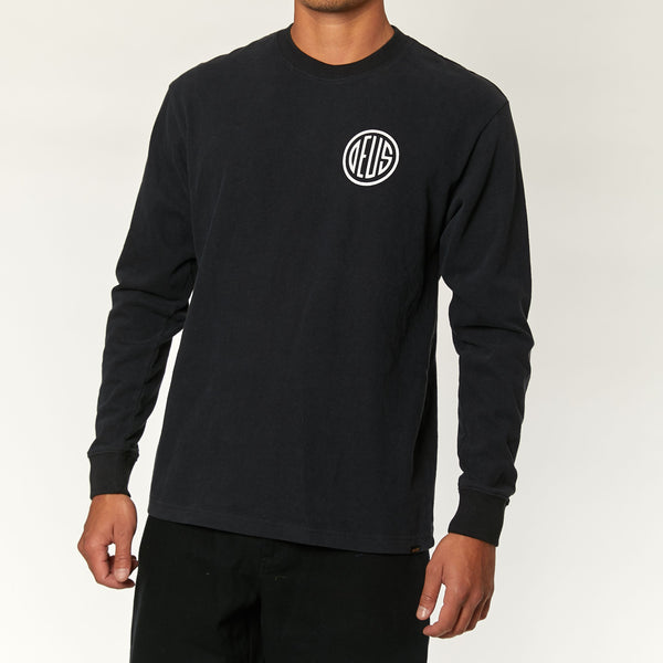 Pill Long Sleeve Tee - Black