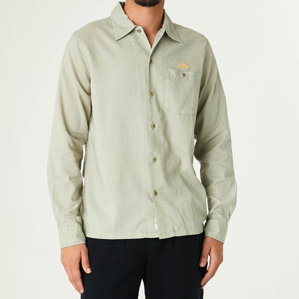 Manila Long Sleeve Shirt - Tea