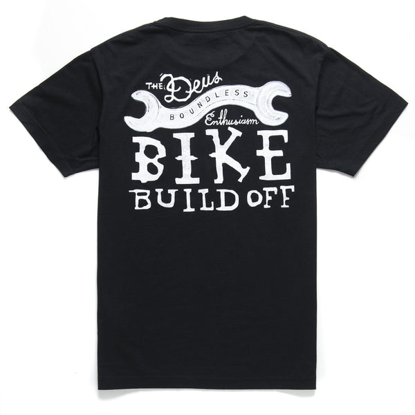 Bike Build Off Tee 2019 - Black