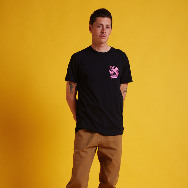Devil Milano Tee - Black